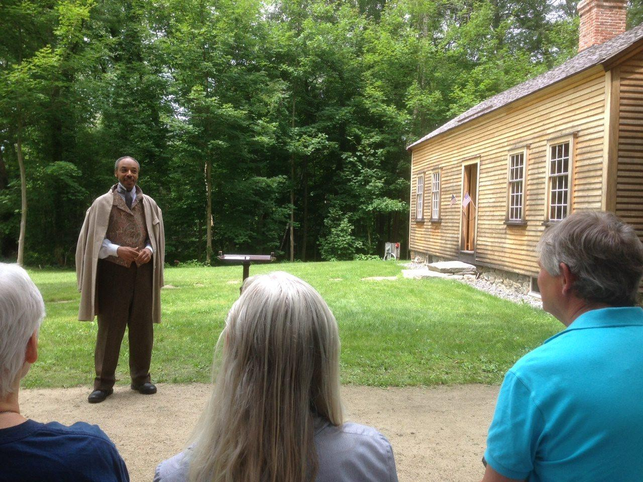 concord journal covers frederick douglass event the robbins house