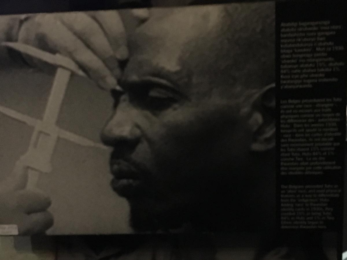 An Exhibit At KGM Shows Propaganda Used To Propagate Ethnic Cleansing In Rwanda, Where Over 800,000 People Were Killed In 100 Days Between April-June 1994.