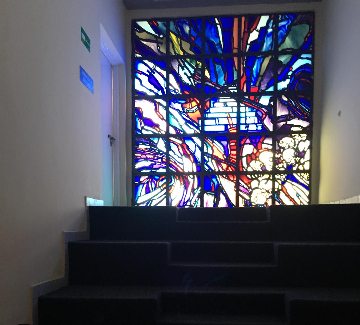 This Stained Glass Window Is One Of Two Specially Commissioned Works Of Art Created By Ardyn Halter, Son Of An Auschwitz Survivor, And Compare Rwanda's Genocide To The Holocaust.