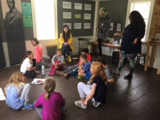 Concord Carlisle High School Rivers & Revolutions Students Nashoba Brooks School 2nd Graders' Visit