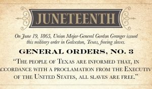 Celebrate Juneteenth At The Robbins House