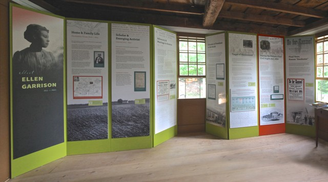 "Photo Of ""Meet Ellen Garrison"" Exhibit By Designer Mary Orr"