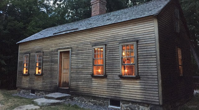 Evening Photo Of Robbins House Exhibit Opening