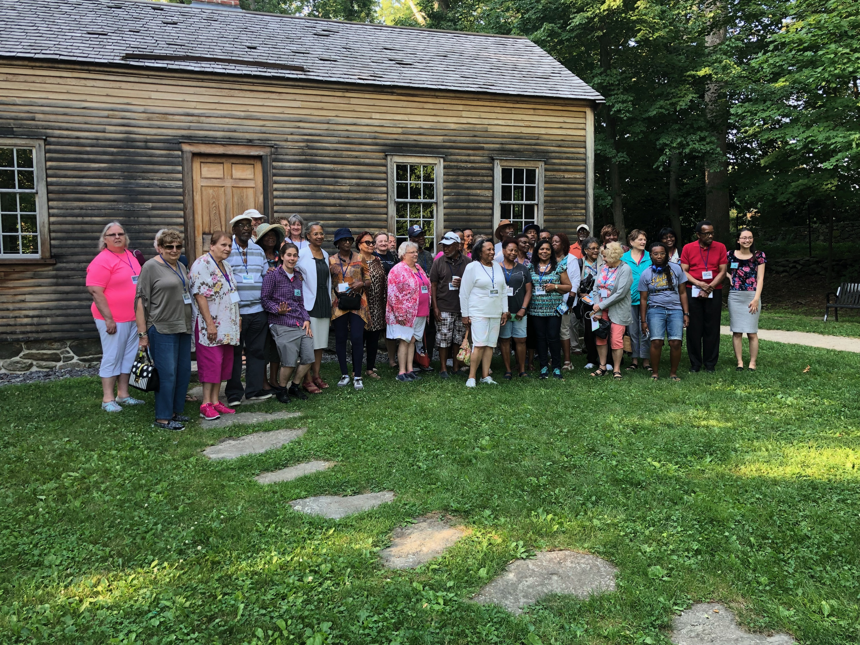 The Central Ohio Underground Railroad Study Group Tours The Robbins House